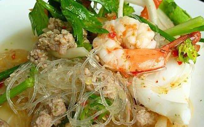 THAI VERMICELLI SALAD WITH PRAWN[yum woon sen ] – Travel Thai ...